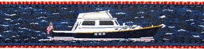 Power Boat Ribbon