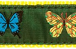 096 Four Butterflies Ribbon