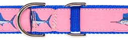 "1.25"" Martingale Dog Collar with Preston Ribbon"