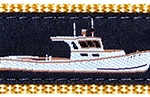 Lobster Boat Ribbon