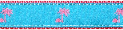 128 Turquoise Palm Tree