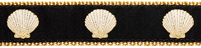 134 Scallop Shell 1.25 .75