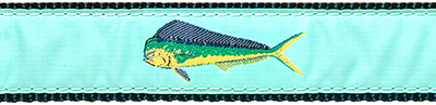 170 Green Mahi Mahi Ribbon
