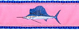 194 Pink Sailfish Ribbon