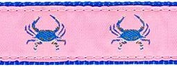 264 Blue Crab Pink Ribbon