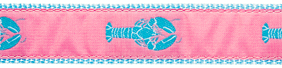 269 Pink Lobster Ribbon