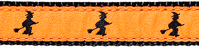 290 Witch on Orange Ribbon