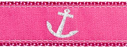 333 Pink Anchor 1.25 .75