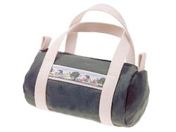 Mini Canvas Duffle Bag by Preston Ribbons