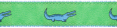 352 Green Alligator Ribbon