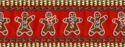 BW01 Gingerbread Man Ribbon