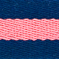 Navy Nantucket Red Striped Surcingle | Preston Ribbons