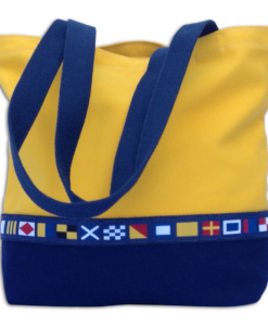 Yellow Flags Tote-Medium