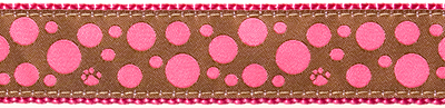 220-Pink-Polka-Paws-on-Brown-.5-.75-1.25