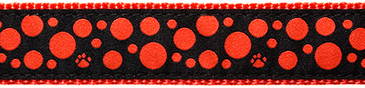 224-Red-Polka-Paws-on-Black-.5-.75-1.25