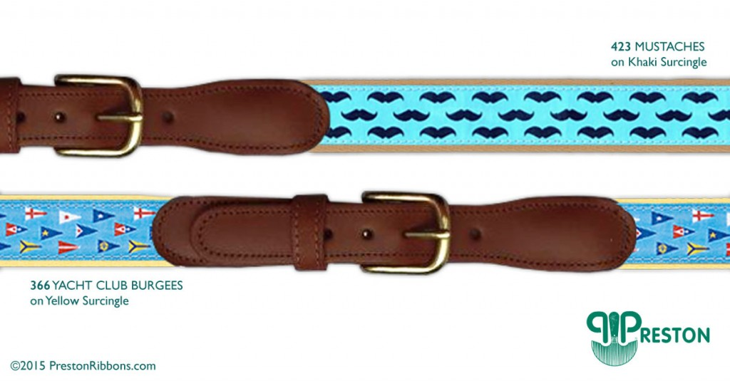 Preston Spring Ribbon & Surcingle Belts