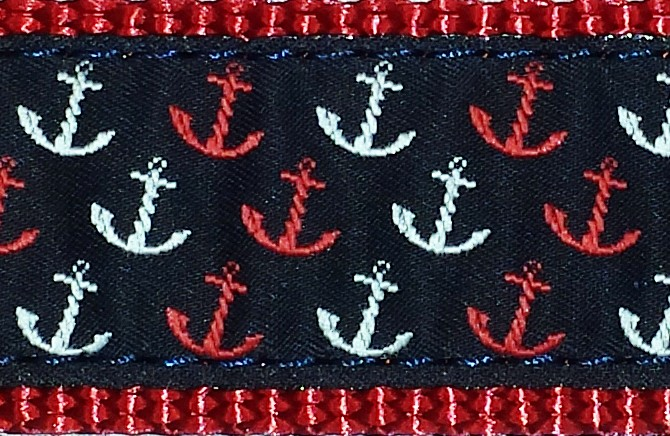 418-Red White and Blue Anchors