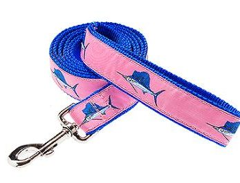 Ribbon & Nylon Dog Lead |Preston Ribbons