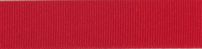 G01 Red Grosgrain | Preston Ribbons