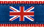 026 British Flag Blue Ribbon