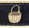 072 Nantucket Basket 1.25 Ribbon