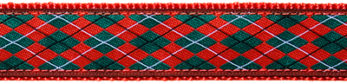 141 Christmas Argyle Ribbon