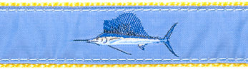 195 LtBlue Sailfish Ribbon