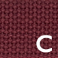 Burgundy Cotton Belting | Preston Ribbon