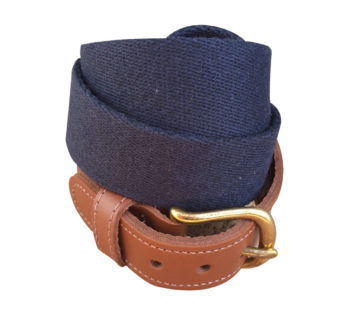 Navy Surcingle Belt