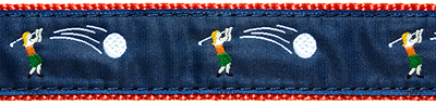 "075| Lady Golfer 1.25"" Ribbon"