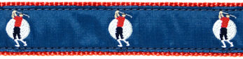 "076| Long Shot Golfer 1.25"" Ribbon"