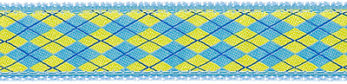 300 Light Blue and Yellow Argyle